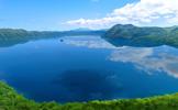 新緑溢れる、初夏の摩周湖